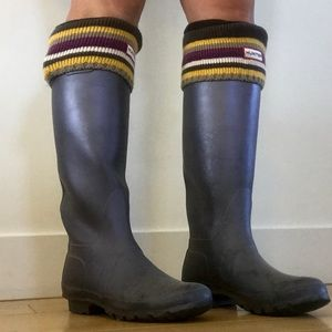 Hunter Brand Fleece Socks